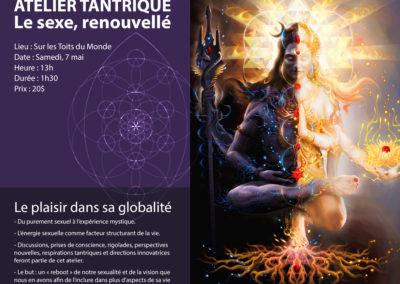 Poster pour atelier à Sur Les Toits du Monde